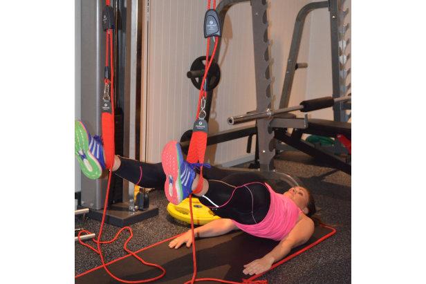 Øvelse 2: Ryggliggende seteløft  - © treningsrom.no