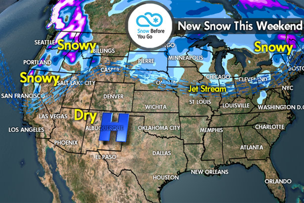 Snow Before You Go: 3 Storm Systems Headed Here...- ©Meteorologist Chris Tomer