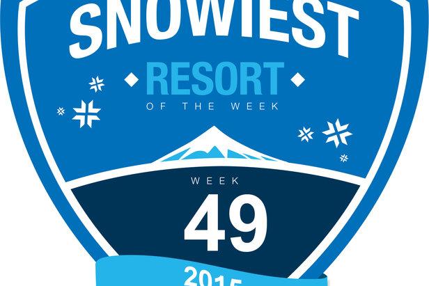 Snowiest Resort of the Week - 49. týždeň 2015