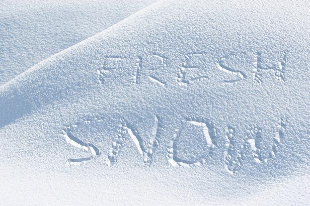 Cez víkend si do snehu budeme môcť písať odkazy aj my na Slovensku...  - © G. K. - Fotolia.com