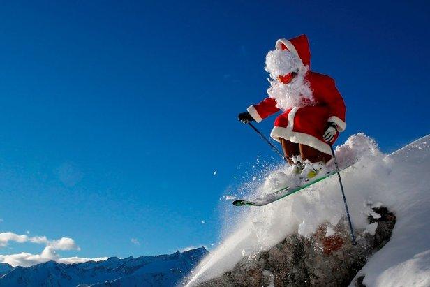 Znalezione obrazy dla zapytania święta na nartach