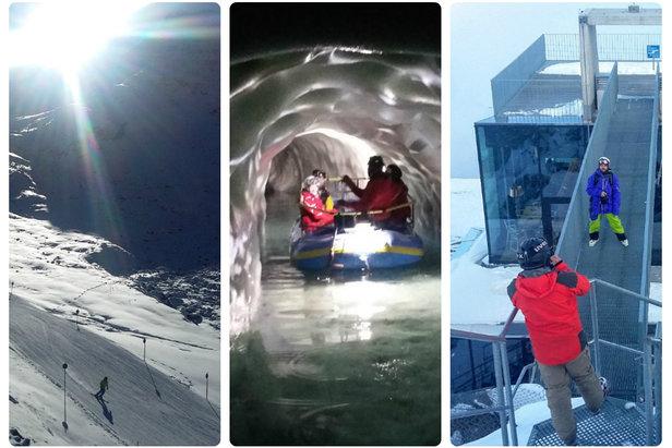 W minionym tygodniu odwiedziliśmy trzy z pięciu tyrolskich lodowców - Hintertux, Kaunertal i Sölden