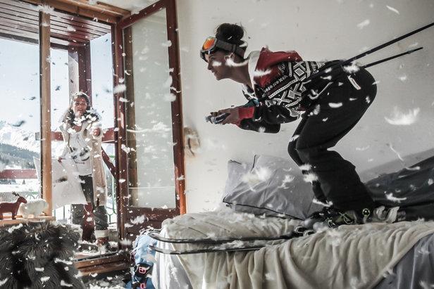 """Avec son offre """"Elles skient"""" 100% dédiée aux femmes, la station des Arcs vous propose de profiter d'un week-end de trois jours alliant glisse, détente, retrouvailles, fête et fous rires..."""