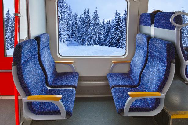 Le transport par rails se développe également pour le plus grand plaisir des skieurs  - © Nikolai Sorokin - Fotolia.com