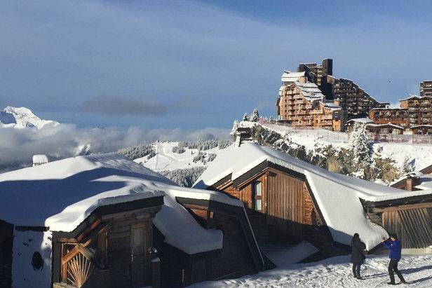 Sneeuwrijkste gebied week 1: eindelijk de Alpen ©Facebook Avoriaz