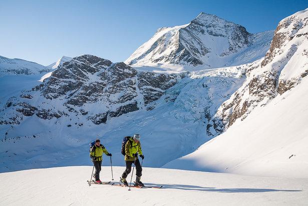 Klettergurt Skitouren : Fünf skitouren im wallis: bishorn & wängerhorn