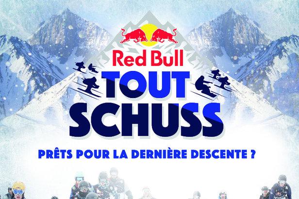 La première édition française du Red Bull Tout Schuss aura lieu à Ax 3 domaines le samedi 6 février 2016.