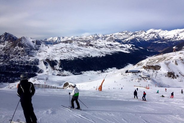 On the slopes of Grandvalira, Andorra  - © Grandvalira