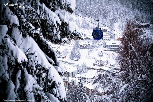St. Anton is a great all-round resort  - © St. Anton am Arlberg