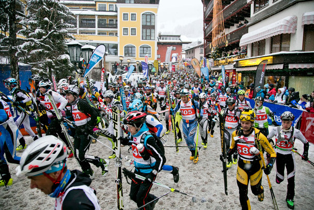 1100 Athleten beim 18. Tourenskirennen Hervis Mountain Attack in Saalbach- ©Wildbild | Mountain Attack