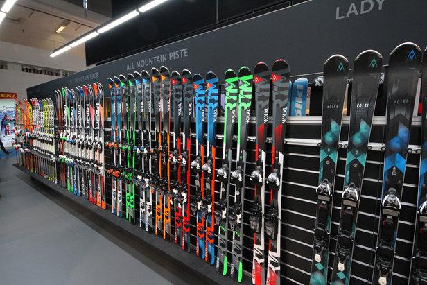 Neue Ski für den Winter 2016/2017: Was sind die Trends für die neue Saison? ©Skiinfo