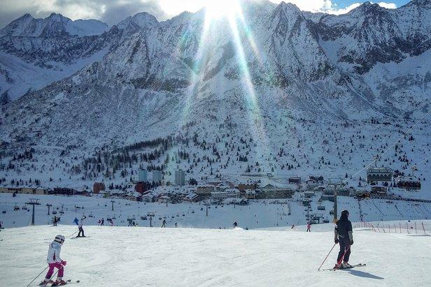 Testujemy ośrodki narciarskie: Adamello Ski, czyli dla każdego coś miłego- ©Tomasz Wojciechowski