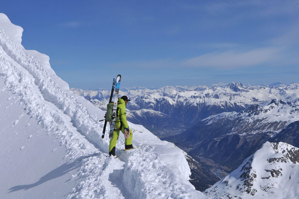 Berninagebiet: Skitour von der Diavolezza auf den Piz Palü  - © Stefan Herbke