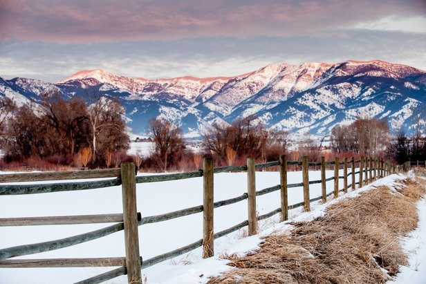 Bozeman is located in the Gallatin Valley, surrounded by mountains and wide-open spaces.