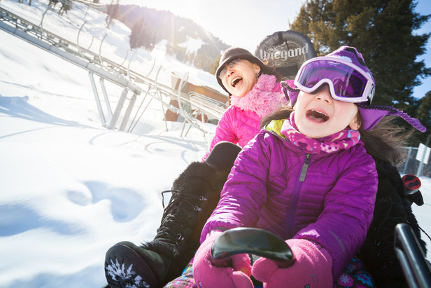 Snow King's Cowboy Coaster gives thrills to riders.