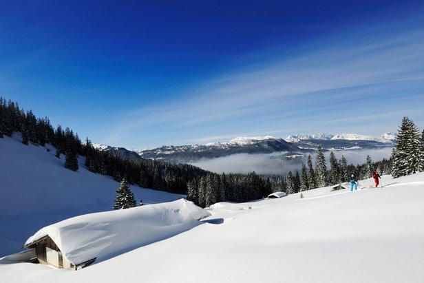 Reit im Winkl: Skitouren im bayerischen Schneeloch- ©Norbert Eisele-Hein