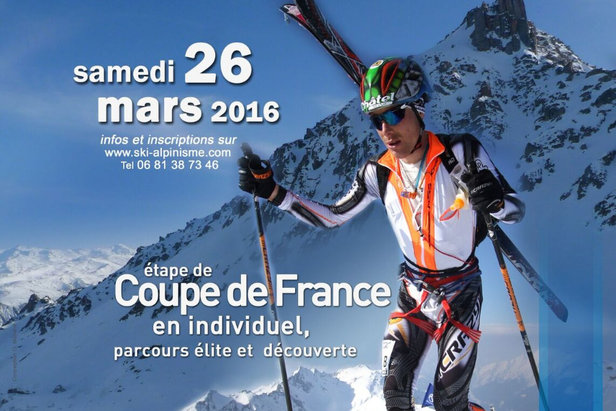 8ème édition de la Doucy Cimes et manche de la Coupe de France de ski alpinisme les 26 et 27 mars à Valmorel et les Vallées d'Aigueblanche (Savoie)