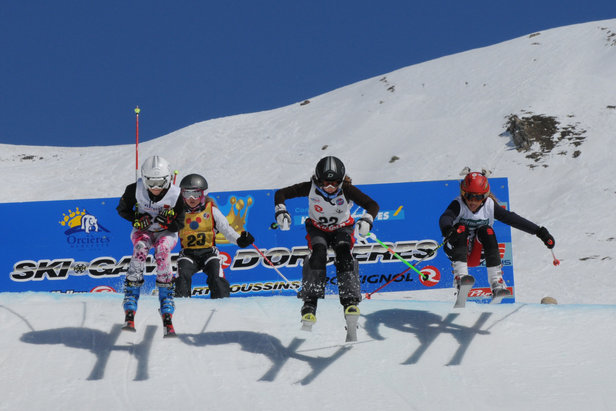 Les Ski Games Rossignol, la version junior des « X Games »- ©Gilles Baron