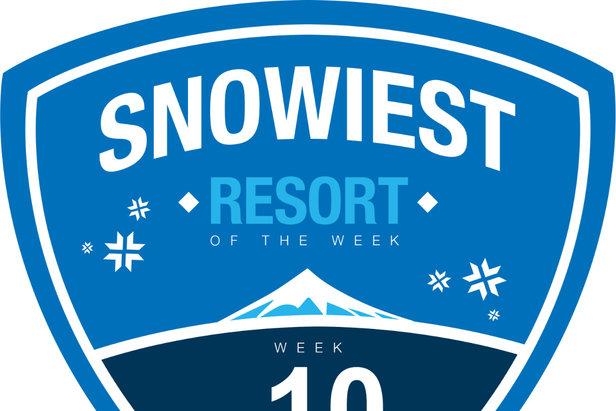 Snowiest Resort of the Week - 10. kalendárny týždeň