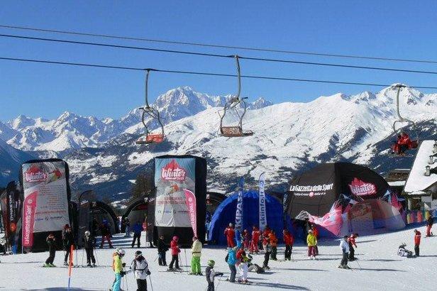 The Winter Tour, organizzato dal Pool Sci Italia e dalla Gazzetta dello Sport