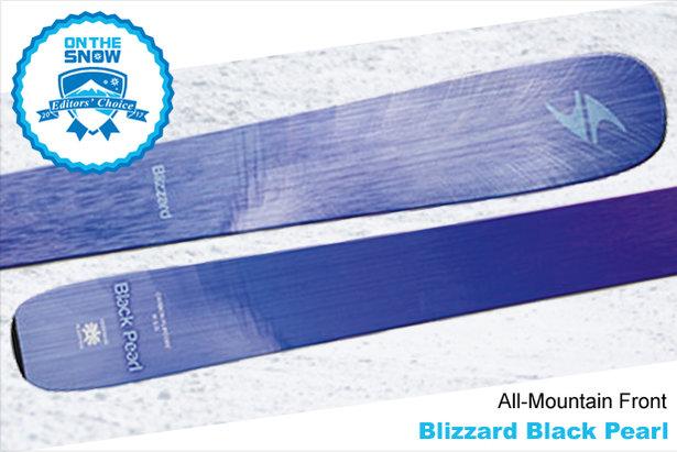 Blizzard Black Pearl, women's 16/17 All-Mountain Front Editors' Choice ski.  - © Blizzard