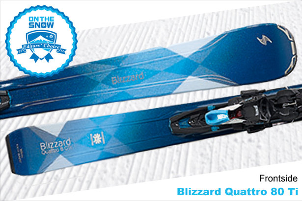 Blizzard Quattro 80 Ti, women's 16/17 Frontside Editors' Choice ski.  - © Blizzard