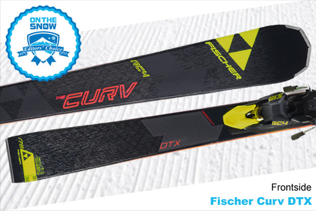Fischer Curv DTX, men's 16/17 Frontside Editors' Choice ski.