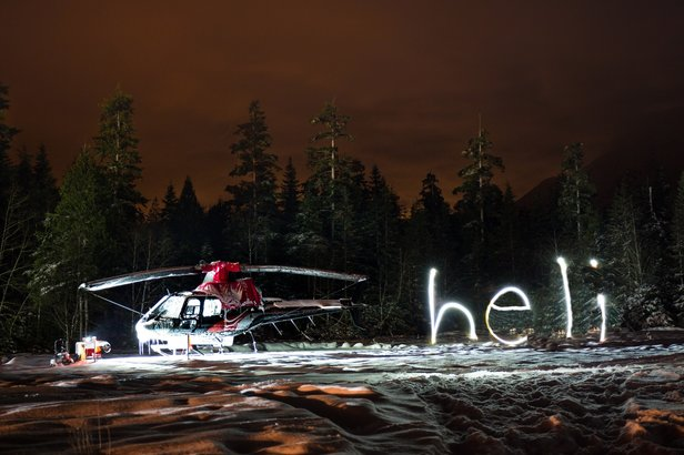 B.C.'s New Boutique Heli Operation Takes Fight- ©Tripp Schoff Photography