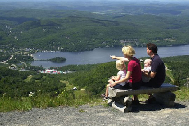 Mont Tremblant provides beautiful vistas and a host of summertime activities for the whole family.  - © Mont Tremblant