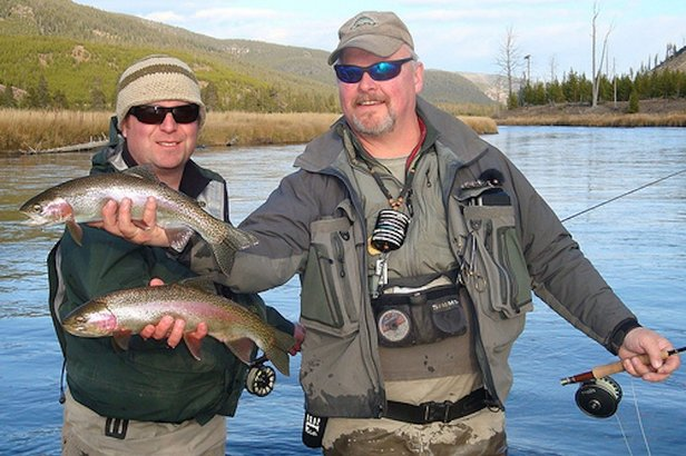 Montana is a fly-fishing Mecca. Anglers make pilgimages to Big Sky for rainbow trout like these.  - © Wild Trout Outfitters