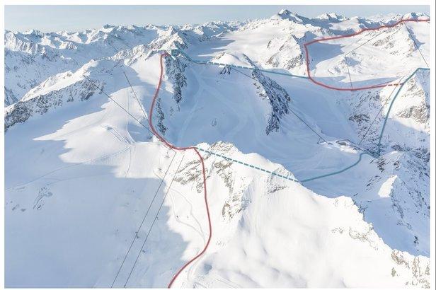 Pläne zum Zusammenschluss von Pitztaler Gletscher und Sölden