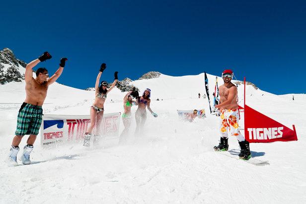 Letní lyžování v Tignes  - © OT de Tignes / Andy Parant