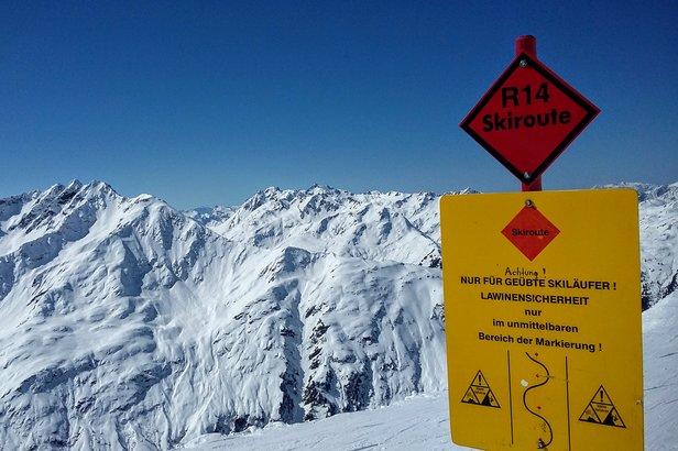 Zjazd z najwyższego punktu w rejonie Rendla dostępny jest tylko dla doświadczonych narciarzy  - © Tomasz Wojciechowski