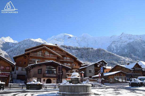 Station de ski des Contamines Montjoie