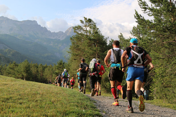 L'Ubaye Trail Salomon conjugue sections rapides, montées et descentes techniques, entre forêts, alpages et passages rocheux sur fond de paysages magnifiques...
