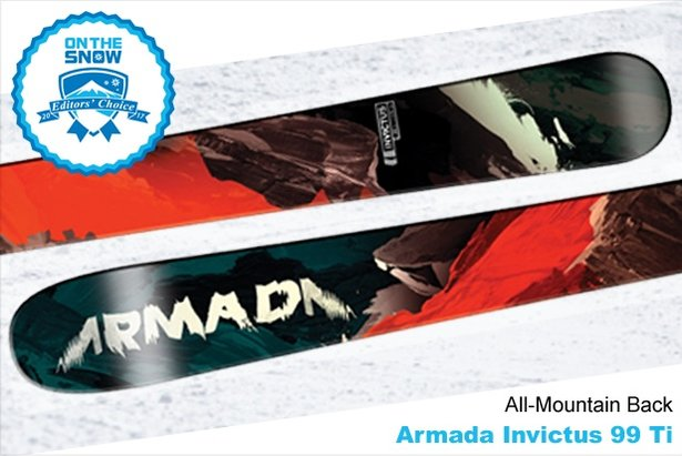 Armada Invictus 99 Ti: 16/17 Editors' Choice Men's All-Mountain Back Ski - ©Armada