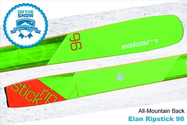 Elan Ripstick 96: 16/17 Editors' Choice Men's All-Mountain Back Ski - ©Elan
