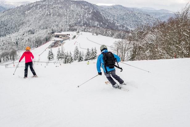 pistes de ski la Planche des Belles Filles