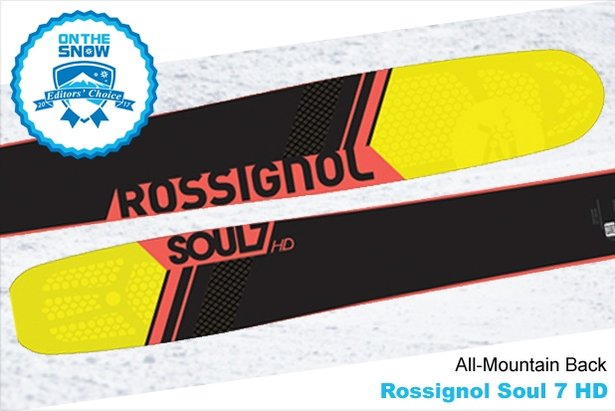 Rossignol Soul 7 HD, men's 16/17 All-Mountain Back Editors' Choice ski.