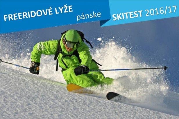 Skitest 2016/17: Freeridové lyže pánske