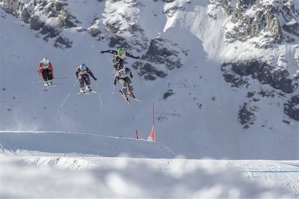 Skicross in Val Thorens  - © OT de Val Thorens