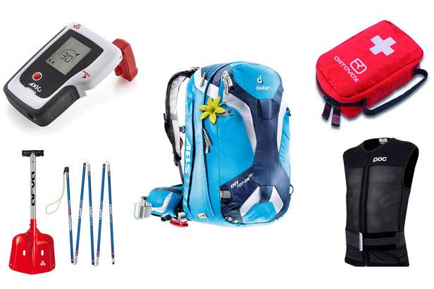 DVA, pelle, sonde, trousse de secours & autres accessoires de sécurité