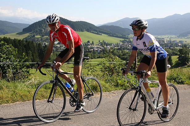 (ete) - Vélo de route (photo OT d'Autrans)