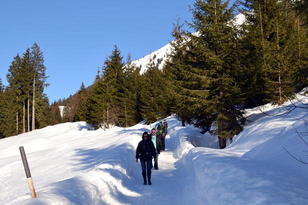 Winterwanderwege im Kleinwalsertal