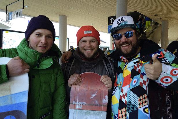 Andrey, Taras i Dimitri  - © TVB Mayrhofen