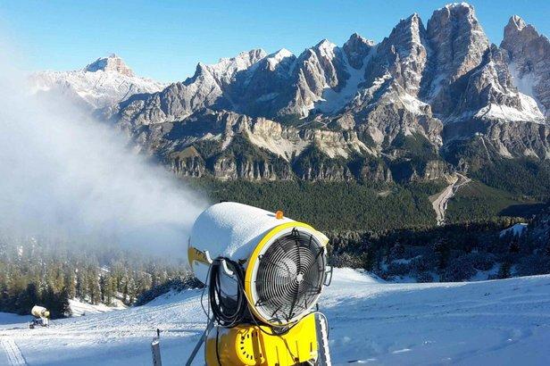 Innevamento programmato - Dolomiti Superski