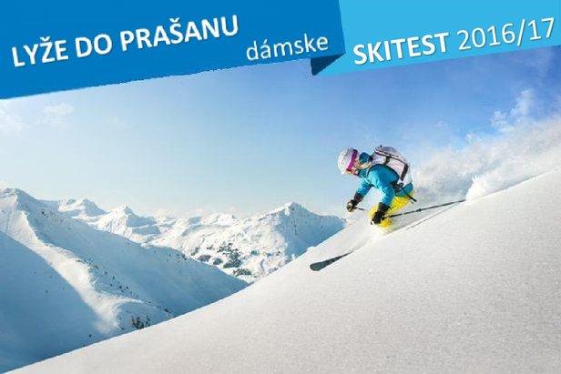 Skitest OnTheSnow 2016/17: Dámske lyže do prašanu