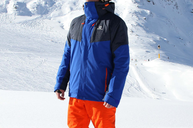 Im Test: Salomon Icerocket Jacket- ©Skiinfo