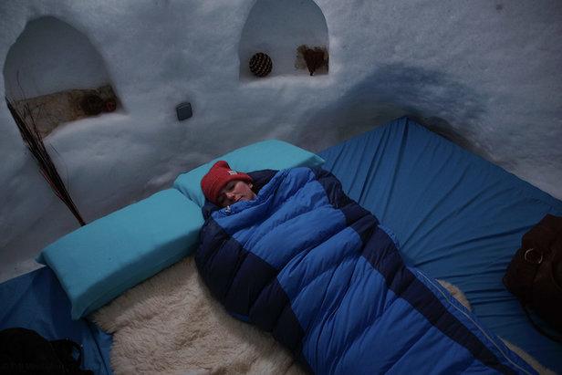 W nocy śpiwór musi być szczelnie zapięty  - © TVB Mayrhofen