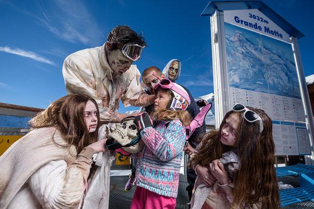 Terreur et épouvante au programme d'Halloween in Tignes- ©Greg Mistral